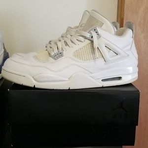 Mens Jordan 4 Pure Money Size 13